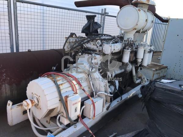 Dorman 415 Volt Generator on skid with separate Radiator