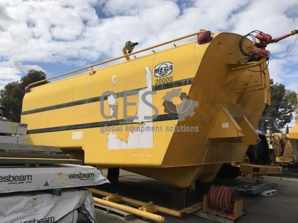 Mega Water Tank HD785-7 MTT20 20,000 Gal 75,000 litre