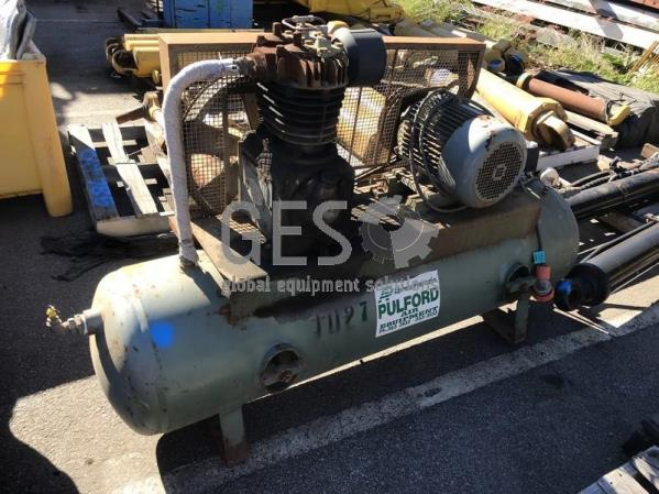 Pulford 59 Air Compressor on Receiver Tank 415 Volt