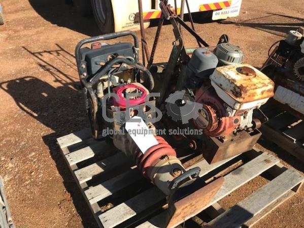 Compactor & Concrete Saw NON operational Item ID: 3523