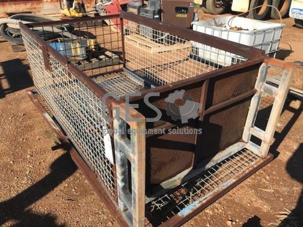 Gas bottle storage cage Item ID: 3532