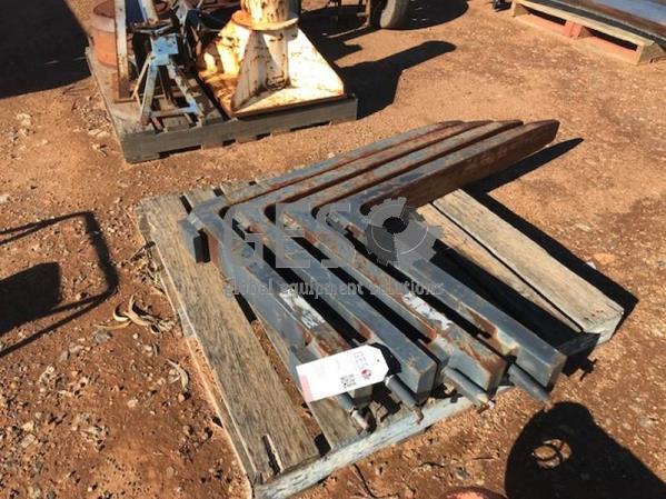 Forklift tynes x 4 Item ID: 3536