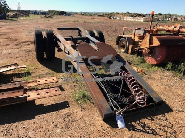 Unreserved Single Axle Dolly Item ID 3578