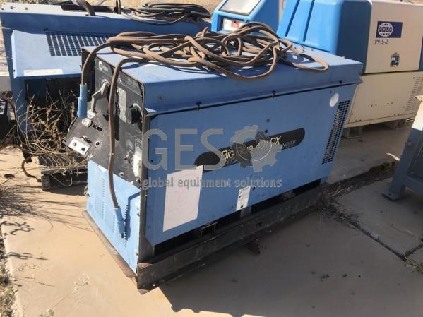 Miller Big Blue 401DX Welder Damaged