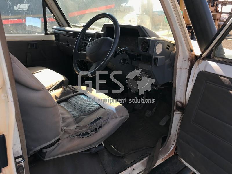 2008 Toyota VDJ79R Landcruiser V8 Tray Back LV862 image 19