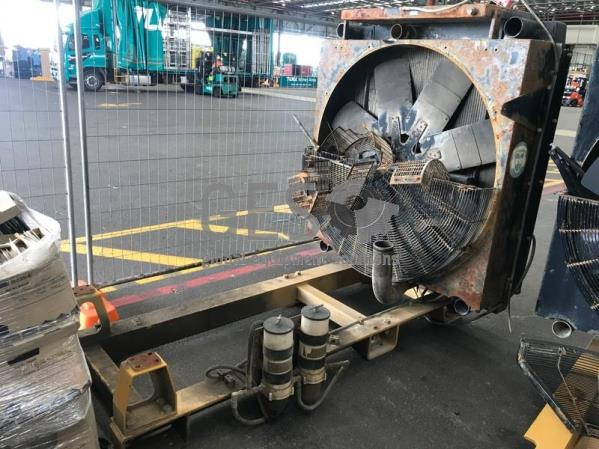 Caterpillar Engine Skid with Radiator