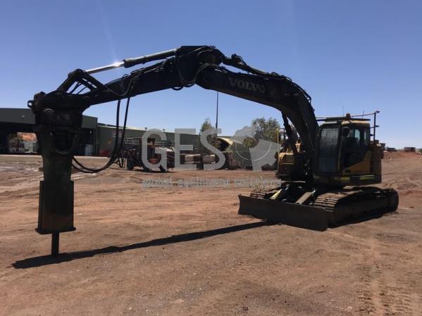 Volvo ECR235CL Excavator with Rock breaker EX012 -RB