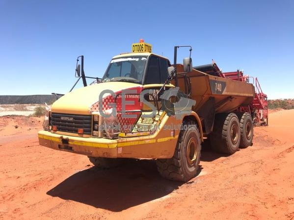 2010 Caterpillar 740 Articulated Dump Truck DT012