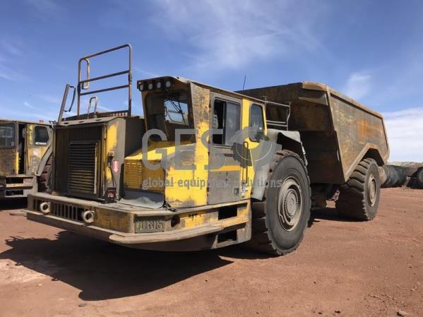 2011 Atlas Copco MT6020 Underground Truck UT015