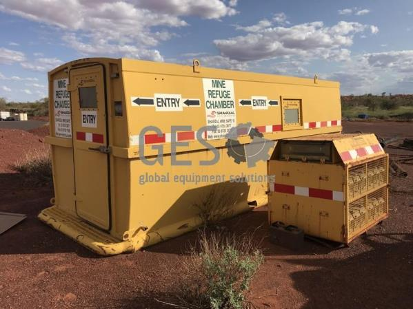 2005 Shairzal Mine Safe 15 Refuge Chamber NON Certified