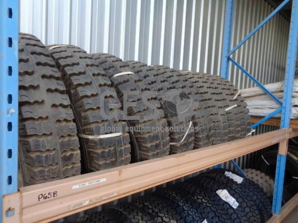 MRF 750/16 tyres x 8 - Un reserved
