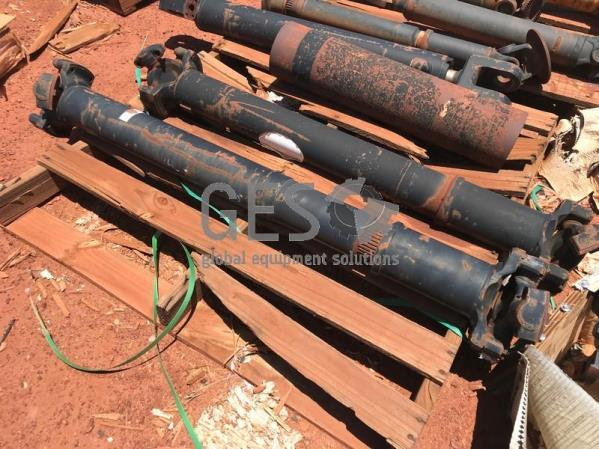 Drive shafts. Accumulator & Cylinder As Is on Pallets x 3