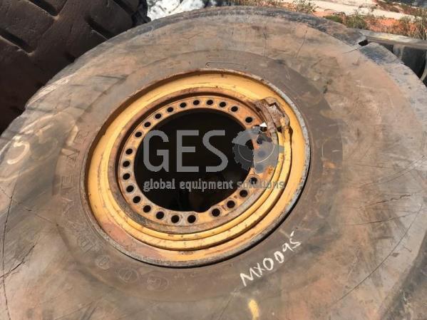 Goodyear 26.5 R25 L-5S 6J D/L-5C Slick on Rim