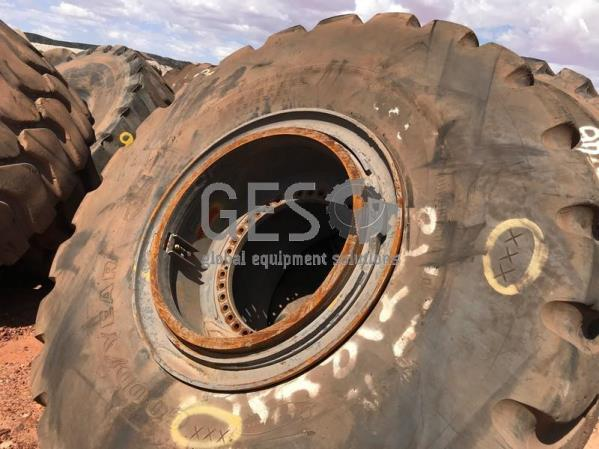 Goodyear 875/65 R33 RT-4. 6S on Rim Used x 3