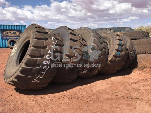 Various 35/65 R33 Michelin, Bridgestone, Continental, BKT Used x 5