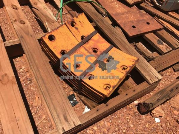 Caterpillar Mould Board Overlays NEW x 17