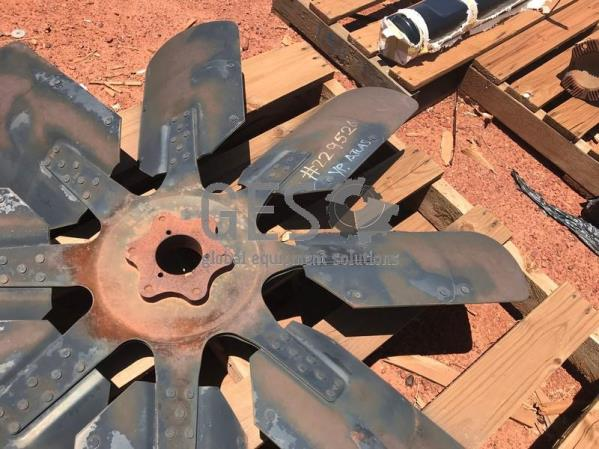 Atlas Copco Fan Blade Radiator