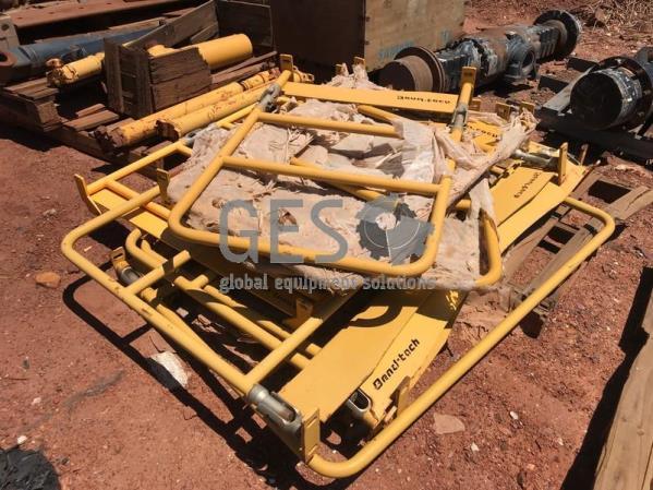 Custom Pallet of Machine Hand rails