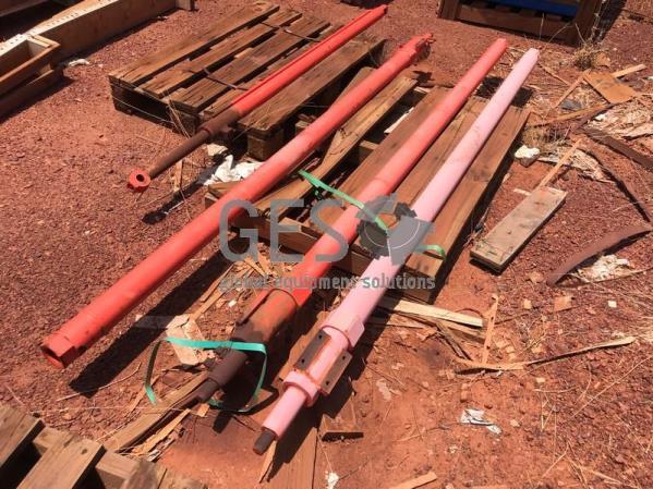 Sandvik Cylinders Boom Extension As Is x 3