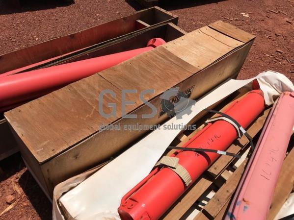 Sandvik Cylinder Jack As Is Part 55000439 x 2