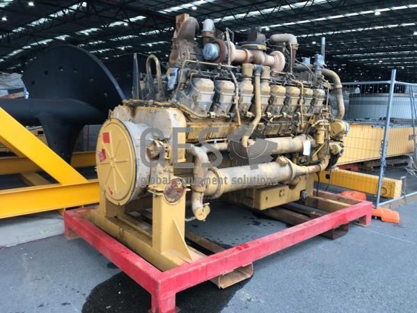 Caterpillar 3516 Engine ex 793D Seized NON OPERATIONAL