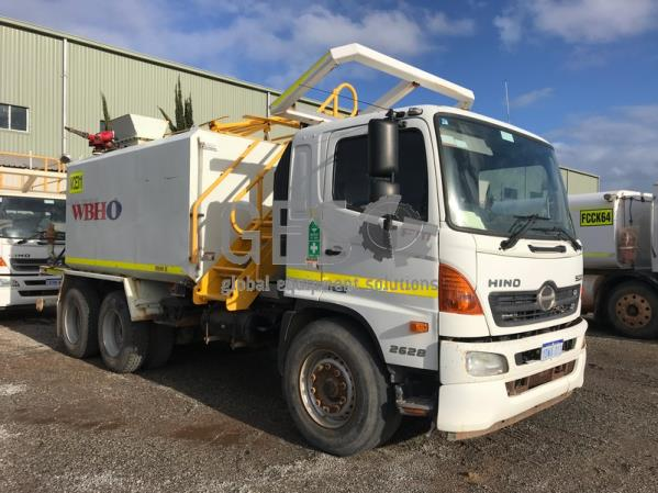 2012 Hino FM1J 500 Auto 2628 Water Truck has chassis rust Asset WCE311