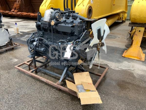 Komatsu PC400LC-7 REMAN/NEW Engine SAA6D125E-3 Part No 6159-09-JK12