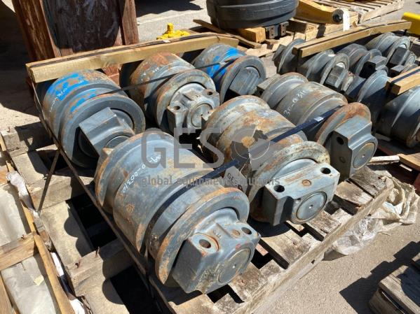 Komatsu Track Rollers x 6 Part 209-30-00310 ItemID_4104