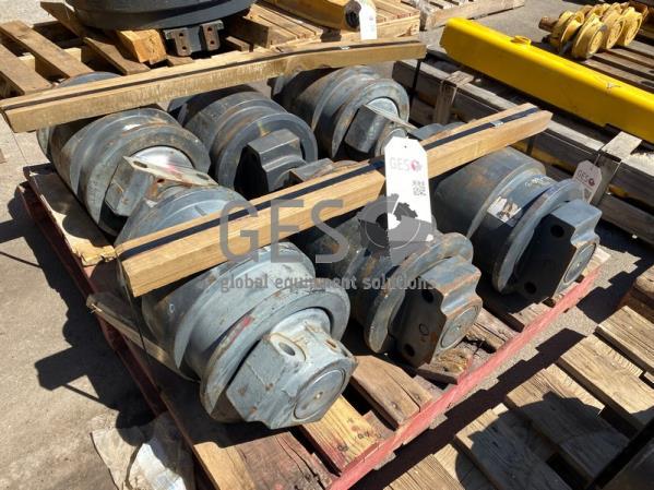 Komatsu Track Rollers x 6 Part 209-30-00310 ItemID_4105