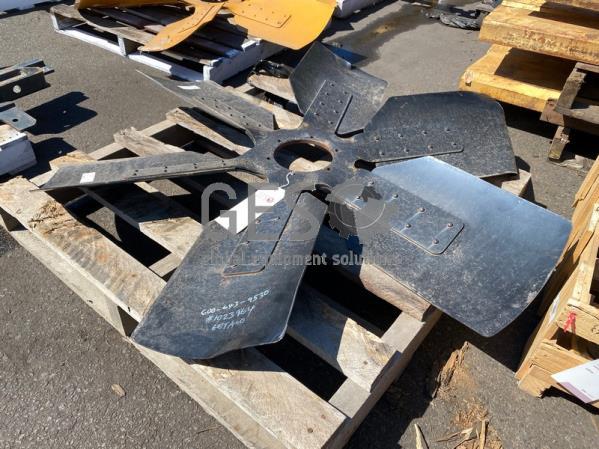 Komatsu Fan Blade to suit WA900-3 Part 600-643-9530 Damaged Tips ItemID_4358
