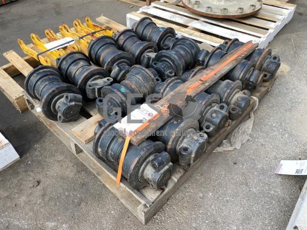 Komatsu Track Rollers x 13 ItemID_4414