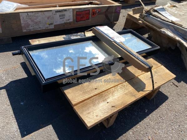 Komatsu Mirror 10 x 30 inch Part AK4069 ItemID_4544