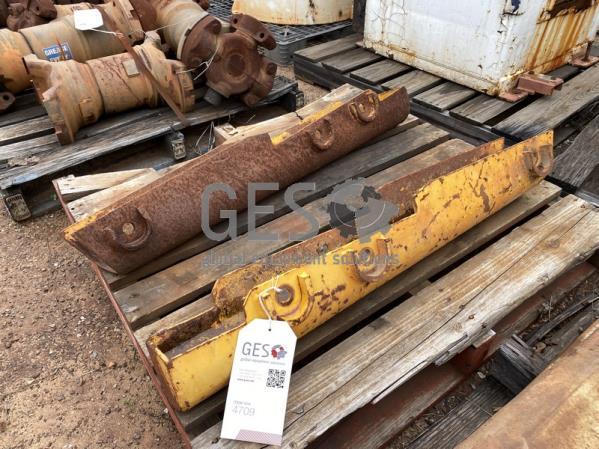 Komatsu Cylinder Guards x 2 USED