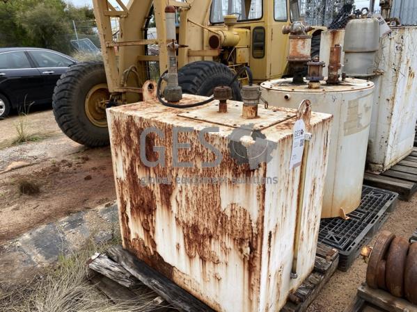 Custom Waste Oil Tank ~ 1 KL Rectangle USED