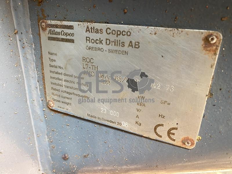 2006 Atlas Copco L7-TH Blast Hole Drill Rig Asset DR_11 image 11