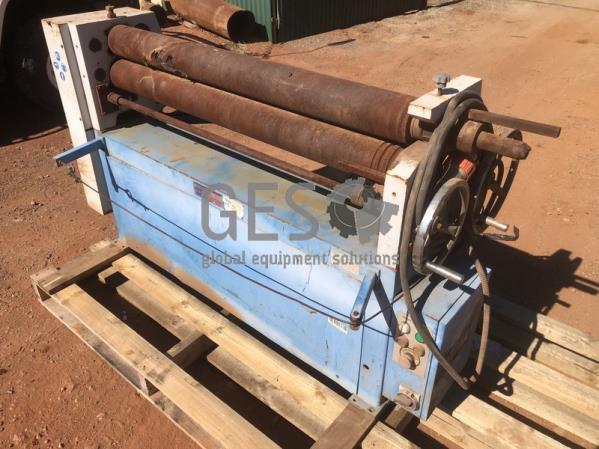 Hafco PR-134 - Motorised Plate Curving Rolls