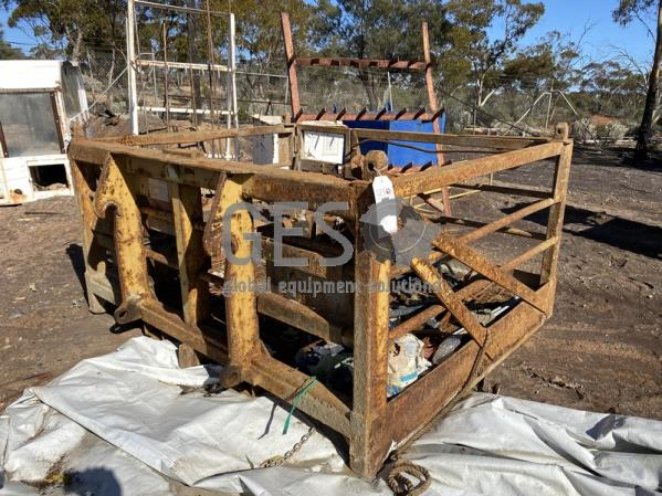2011 Project Industries Work Basket to suit Volvo L120 1,000 kg Rated NON certified
