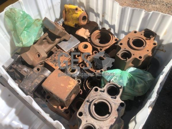 2011 Atlas Copco COP4050ME-T5110 Housings x 2 and misc spares package in IBC