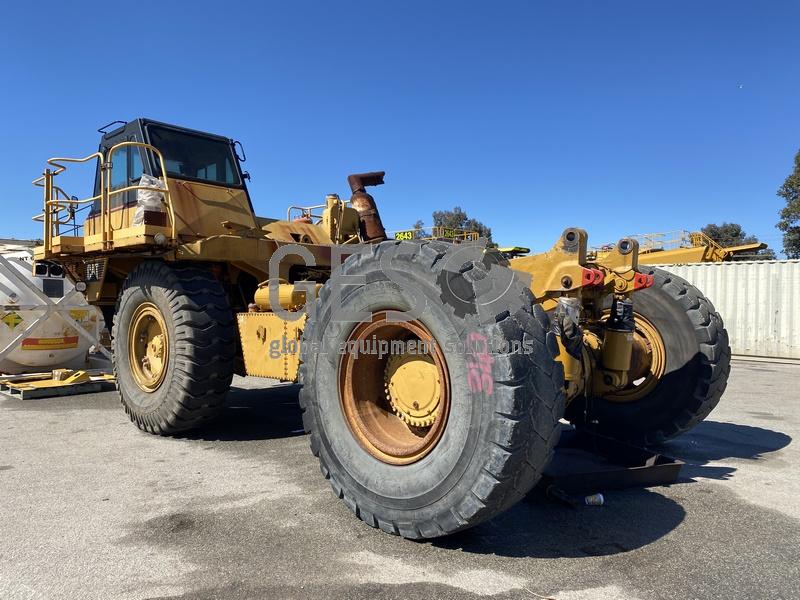 1997 Caterpillar 775D Dump Truck no Tray image 4